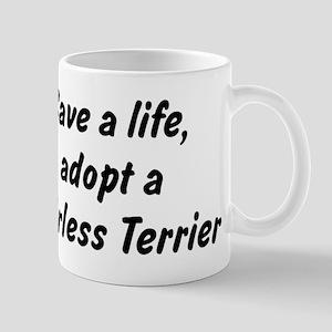 Adopt Hairless Terrier Mug