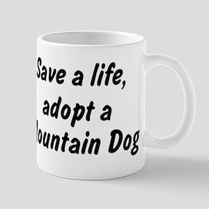 Adopt Mountain Dog Mug