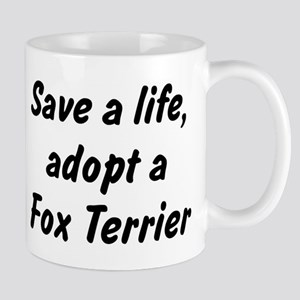 Adopt Fox Terrier Mug