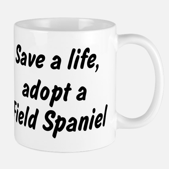 Adopt Field Spaniel Mug