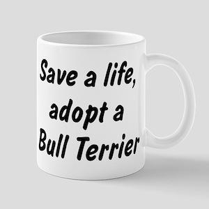 Adopt Bull Terrier Mug