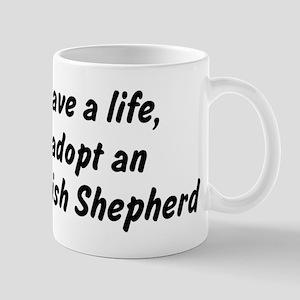 Adopt English Shepherd Mug