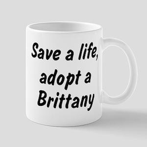 Adopt Brittany Mug