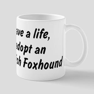 Adopt English Foxhound Mug
