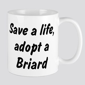 Adopt Briard Mug