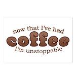 Fun Coffee Joke Postcards (Package of 8)