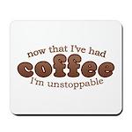 Fun Coffee Joke Mousepad