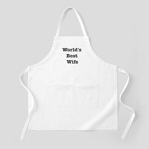 Worlds Best Wife BBQ Apron
