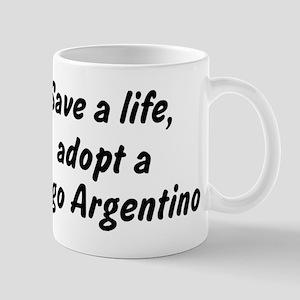 Adopt Dogo Argentino Mug