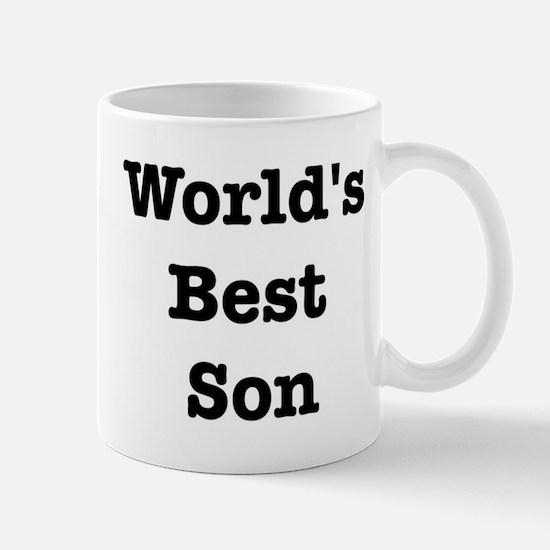 Worlds Best Son Mug