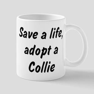 Adopt Collie Mug