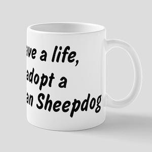 Adopt Belgian Sheepdog Mug