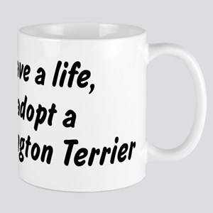 Adopt Bedlington Terrier Mug