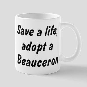 Adopt Beauceron Mug