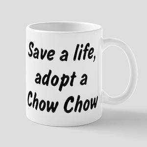Adopt Chow Chow Mug
