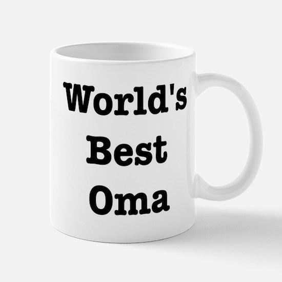 Worlds Best Oma Mug