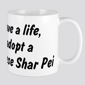 Adopt Chinese Shar Pei Mug