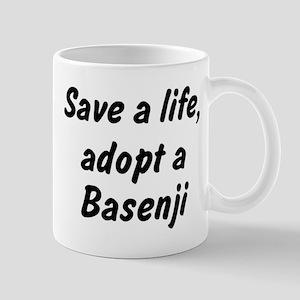 Adopt Basenji Mug