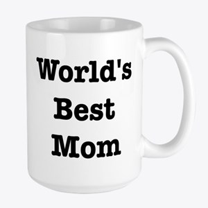 Worlds Best Mom Large Mug
