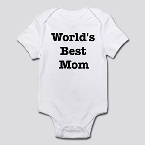 Worlds Best Mom Infant Bodysuit