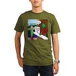 Fish Guy Lagoon Tours Organic Men's T-Shirt (dark)