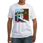 Fish Guy Lagoon Tours Fitted T-Shirt