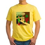 Fish Guy Lagoon Tours Yellow T-Shirt