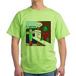 Fish Guy Lagoon Tours Green T-Shirt