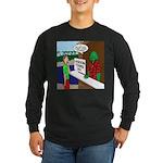 Fish Guy Lagoon Tours Long Sleeve Dark T-Shirt
