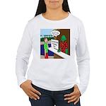 Fish Guy Lagoon Tours Women's Long Sleeve T-Shirt