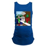 Fish Guy Lagoon Tours Maternity Tank Top