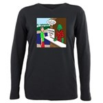 Fish Guy Lagoon Tours Plus Size Long Sleeve Tee