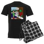 Fish Guy Lagoon Tours Men's Dark Pajamas