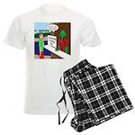 Fish Guy Lagoon Tours Men's Light Pajamas