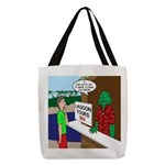 Fish Guy Lagoon Tours Polyester Tote Bag