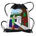 Fish Guy Lagoon Tours Drawstring Bag