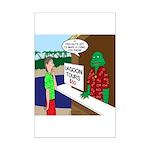 Fish Guy Lagoon Tours Mini Poster Print