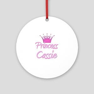Princess Cassie Ornament (Round)