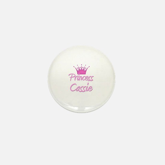 Princess Cassie Mini Button