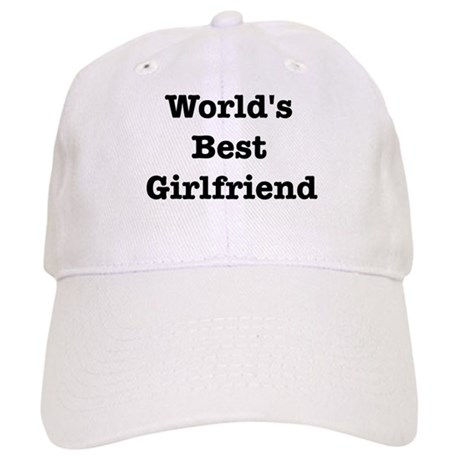 Worlds Best Girlfriend Cap
