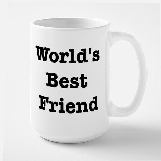 Worlds Best Friend Large Mug