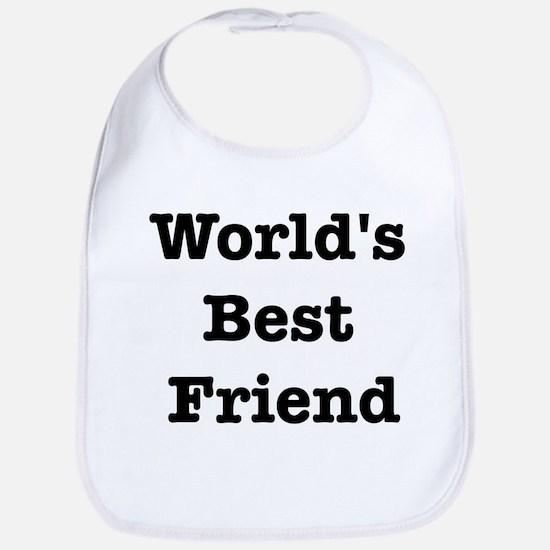 Worlds Best Friend Bib