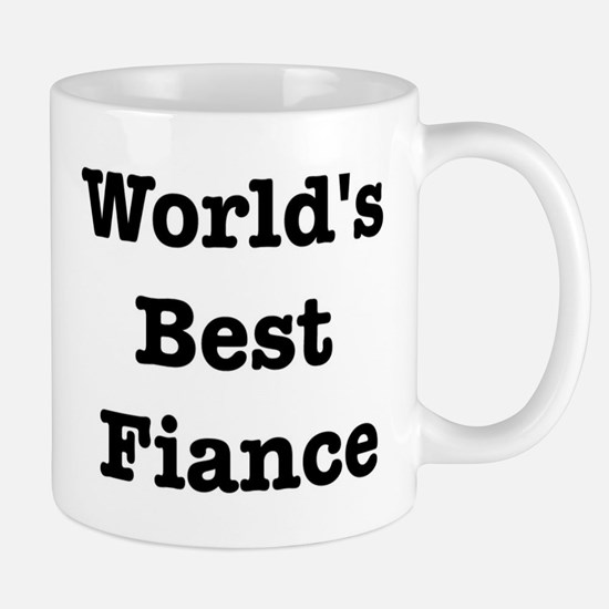Worlds Best Fiance Mug