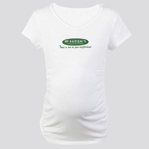 McKenzie's Pastry Shoppe Maternity T-Shirt