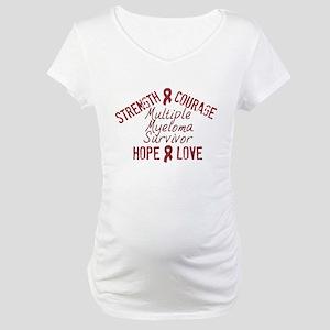 Multiple Myeloma Inspirationa Maternity T-Shirt