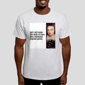 "Marlowe ""I Will Make Thee"" Light T-Shirt"