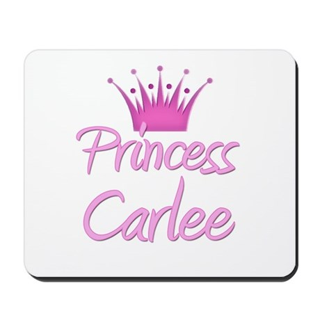 Princess Carlee Mousepad