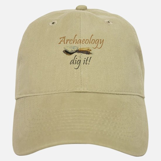 Archaeology, Dig It! Baseball Baseball Cap