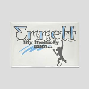 Emmett Monkey Man - Rectangle Magnet