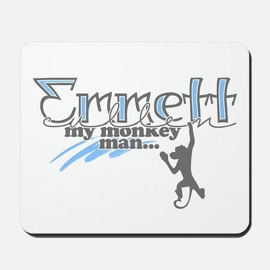 Emmett Monkey Man - Mousepad